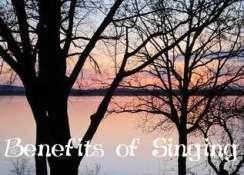 benefits of singing graphic