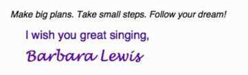 Barbara Lewis Music