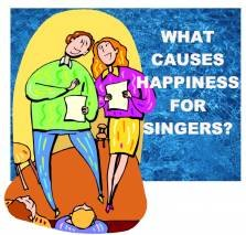 happiness for singers