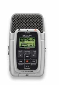Zoom H2 portable stereo recorder - image